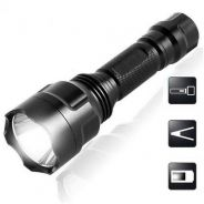 2200LM CREE Q5 LED C8 Portable Flashlight 18650