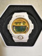 White Resin Baby G Watch