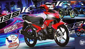 Yamaha 135lc (promosi)