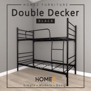 Katil Double Decker black color i8