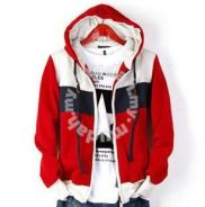 RED Hitz Men Mixed Color Casual Sweater Men Jacket