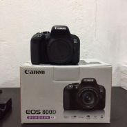 CANON 800D full set in warranty