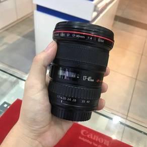 USED CANON EF 17-40mm F4 L USM