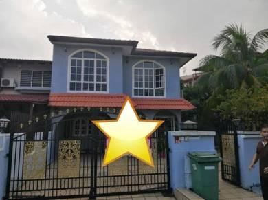 Double Storey Corner House Lorong Burung Sintar 2, Taman Bukit Maluri