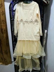 DRESS TUNANG NIKAH 2pcs