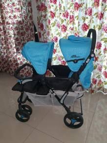 Anakku Signature Twin stroller For Sale