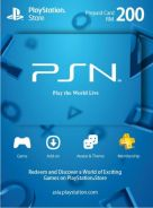 Sony psn playstation network card