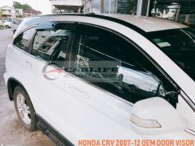 HONDA CRV 2007-12 OEM Chrome Door Visor