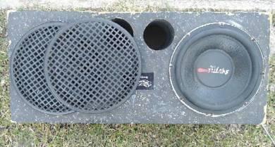 speaker bass 10'inc 350W/1pcs   box