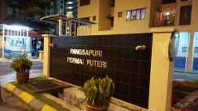 Permai puteri apartment ampang fully furnished