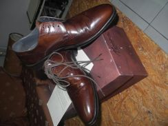 Morandi Leather Shoes (Made in Italy)