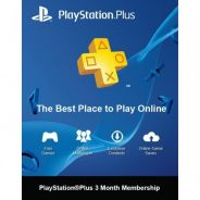 Playstation Plus Membership 3 Months -