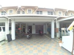 Double sty house for sale taman seri ijok