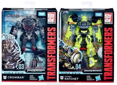 Studio Ratchet Crowbar Hasbro 2pcs toys