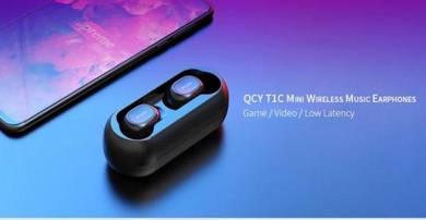 QCY Waterproof Mini Wireless Bluetooth Headphone