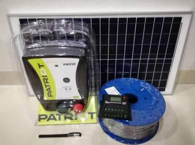 Patriot 8 ekar Pagar Elektrik - 2 tahun warranty