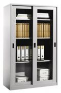 Malaysia Glass Sliding Door Filing Cupboard