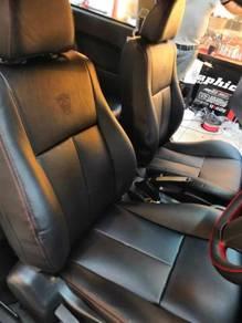 Proton persona semi leather seat