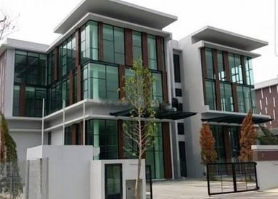 3 Storey Semi D Factory Office Nouvelle Kemuning for SALE