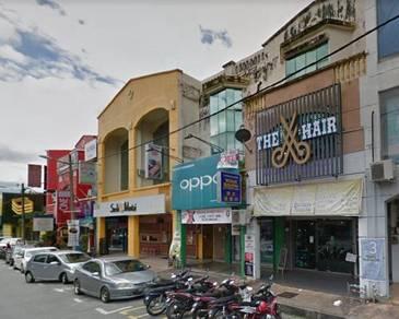 Freehold 3 Storey Shop House in Taiping, Perak