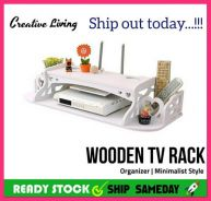 Wooden TV Rack Organizer (52)