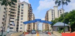 Puchong_Apartment Vista Lavender_well maintained, Kitchen Kabinet!