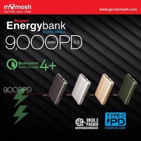 (Ori) MYMOSH Super Energybank 9000mAh Ultra Small