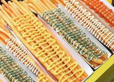 Hot Cheezy Long Potato Fries