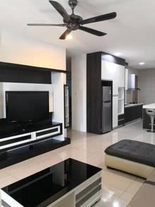 Furnished 3 bedroom unit at Homelite Resort Condo Miri for rent