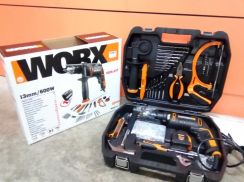 Worx WX317.3 Impact Drill with Accessories Set