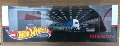 Hot Wheels - Nissan Garage Premium (4 Cars)