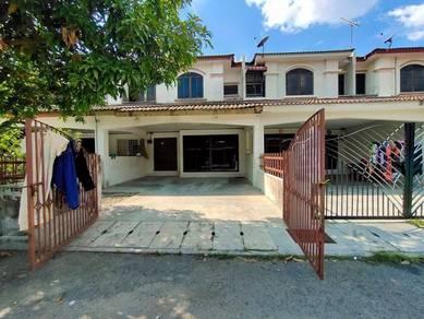 Rumah teres dua tingkat taman desa tanjung murni chemor untuk dijual