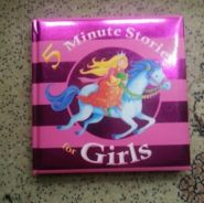 5 Minute stories for girls / children books