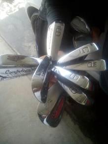 8Pcs Japan irons made.Steel shafts