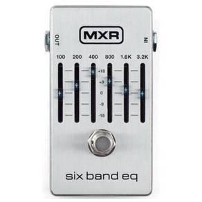 Dunlop MXR M109S Six Band EQ Pedal w/Bonus