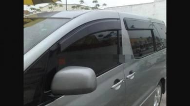 Toyota estima acr30 alphard 03 door visor