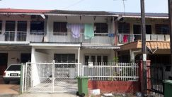 AFFORDABLE Double Storey Terrace at Central Road near Kuching City