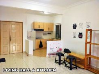 Room Koi Tropika Condo Near Bandar Puteri _ Free Utility Full Furnish