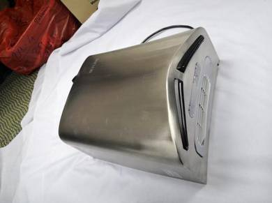Stainless steel v blade turbo hand dryer - new