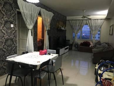 (Full Loan)Lumayan Apartment, Bandar Sri Permaisuri , Cheras