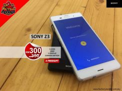 Sony Xperia Z3 3+32GB 20MP Snapdragon Waterproof