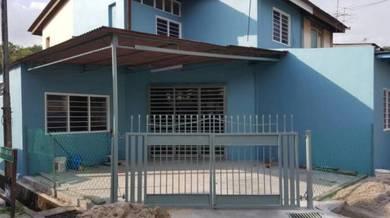 Rumah 2 Tkt Corner Baru Diubahsuai di Seberang Jaya Perai Butterworth