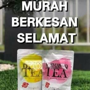 Slimming Detox & Kaki Cantiq Tea