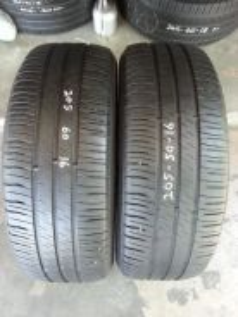 Tayar 205/60/Rim16 Michelin.80%