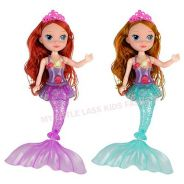 Mermaid Princess Doll Toy with Rainbow Flash Light