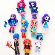 9PCS My Little Pony Equestria Girls PVC Figures