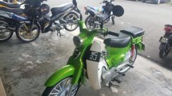 Demak 110 with VVip plate WC2J