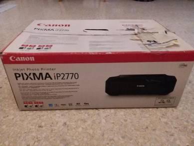 NEW CANON PIXMA iP2770 photo printer