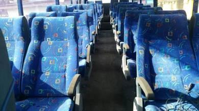 Seat bus kerusi bas hino