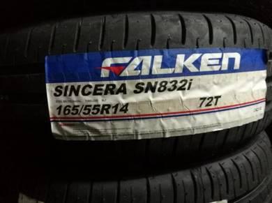 Tayar Baru Falken 165 55 14 Bunga Baru New Tyre